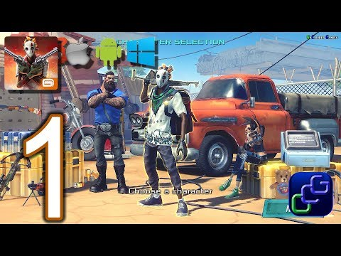 DEAD RIVALS Zombie MMO Android iOS Windows Walkthrough - Gameplay Part 1 - The Shelter, Prospect