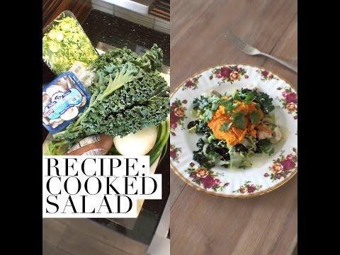EASY Recipe: Healthy & Delicious Cooked Salad!