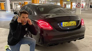 Buying A LOUD Mercedes-AMG C63!