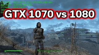 fallout 4 gtx 1070 vs 1080 1440p vs 2160p i7 7700k b