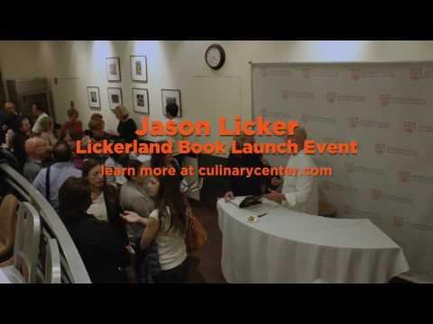 Alumni Jason Licker Returns to ICC For Cookbook Launch [Recap]