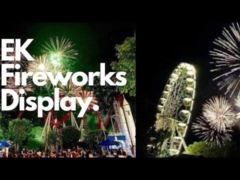 Enchanted Kingdom Fireworks Display