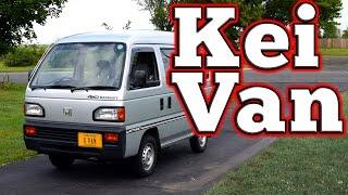 Regular Car Reviews: 1988 Honda Acty Street Kei Van