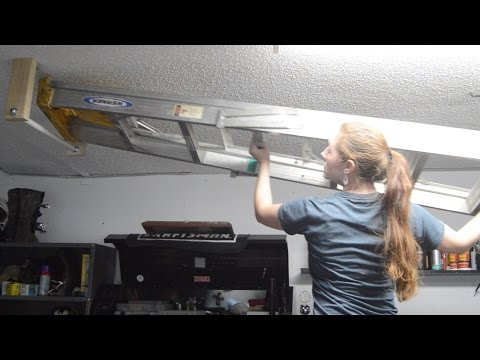 How to Hang a Ladder From the Ceiling