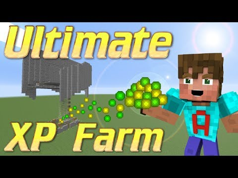 Minecraft XP Farm | How to make an XP Farm | Minecraft Mob Grinder lets build | Minecraft Tutorial