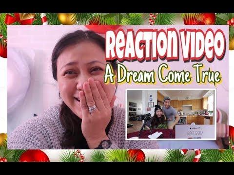 VLOGMAS: REACTION TO WIL DASOVICH VIDEO DREAM COME TRUE + SINUSUOT KO PANG WORKOUT SA BAHAY