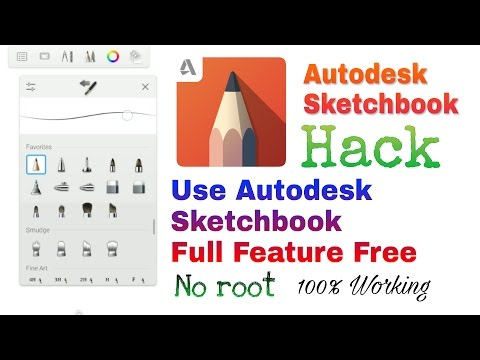 Autodesk Sketchbook Hack Without Root 100% Working || How to buy Sketchbook pro Tools || Hindi