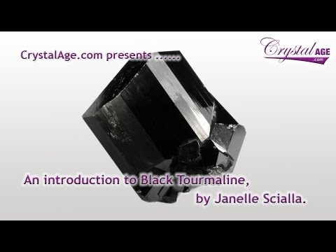 Healing Crystals Guide - Black Tourmaline