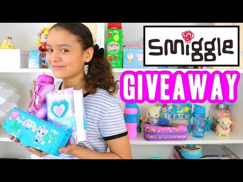 Smiggle Pencil Case Haul 2017 Back to School Giveaway Supplies | Ambi C Unboxing Squishy Stationery