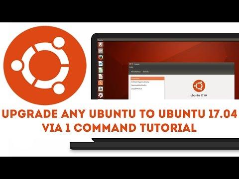 Upgrade Any Ubuntu to Ubuntu 17.04 via 1 Command Tutorial (How to) 2017
