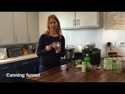 Canning Equipment Basics
