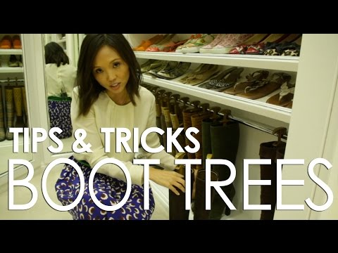Closet Tips & Tricks with Lisa Adams / Episode 3: Boot Trees
