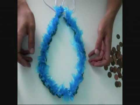 How To Make: COIN Money Lei [simple chain version]