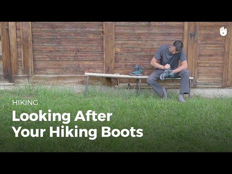 How to Clean Hiking Boots   Hiking