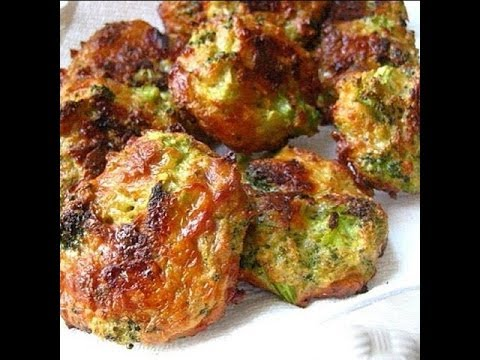 How to make Broccoli Cheese Bites....