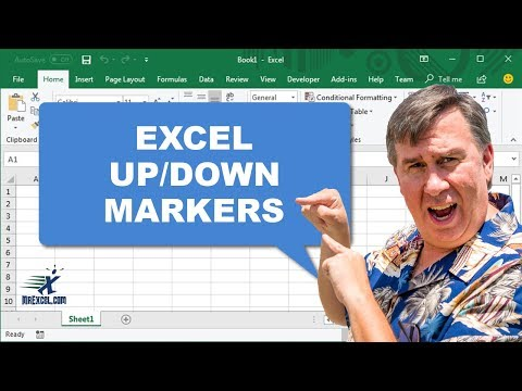 Learn Excel - Up/Down Markers - Podcast 2007