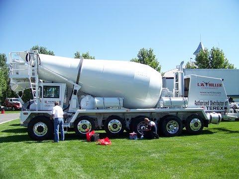 Walk-Around Terex FDB7000 Front-Discharge Transit Mixer Great Salt Lake Truck Show 8-12-11