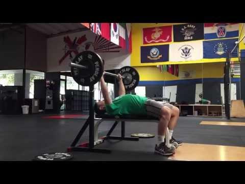 Restarting My Jump Training (Part 2) - Upper Body Workout