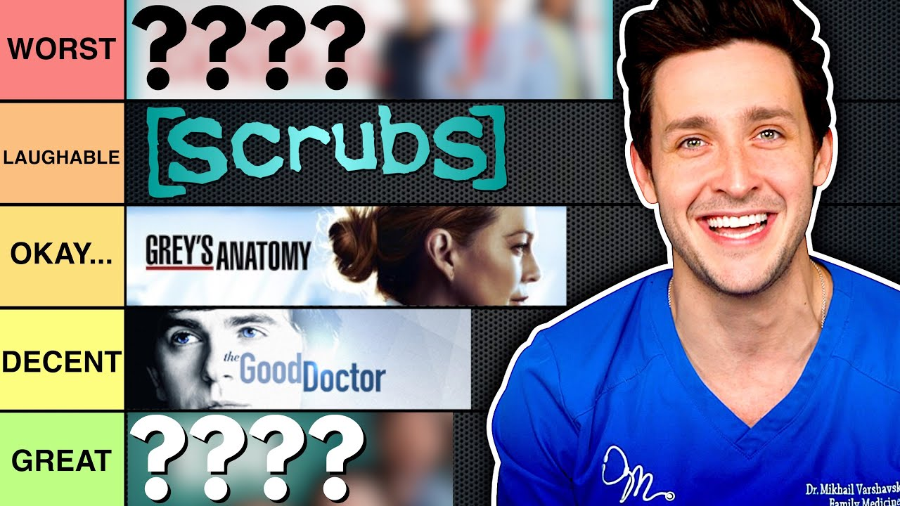 Ranking The MOST Accurate Medical Dramas   Dr. Mike