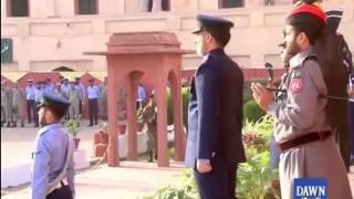Guard Ceremony at Mazaar-e-Iqbal Lahore