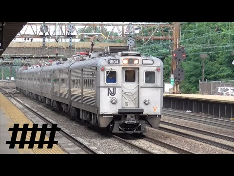 NJ Transit and SEPTA at Trenton Station with Color Position Light Signals