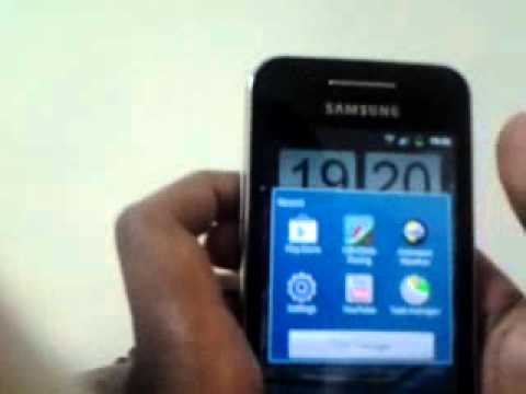 How to take screenshot in samsung galaxy ace