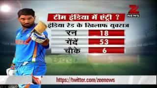 Yuvraj shines again as India Blue win by 11 runs