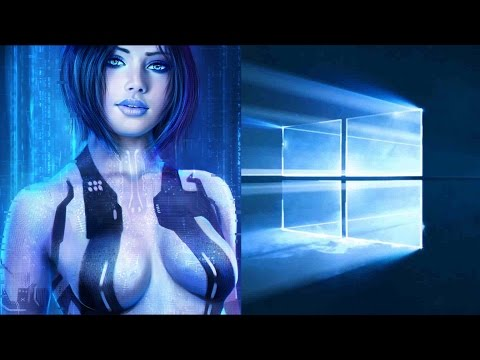 Windows 10 Cortana Personal Assistant Demo - 60FPS