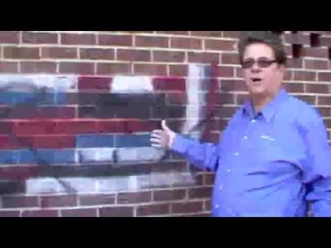 Remove spray paint graffiti easily with EzyClean Red