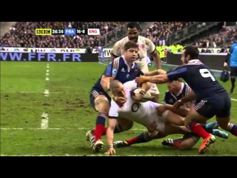 6 Nations Rugby 2014 France vs England 1 Feb Full Match (English Commentary)