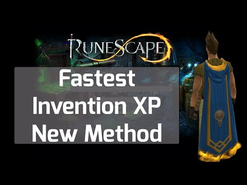 Runescape Invention Guide Fastest Level New Method