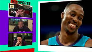 Dwight Howard Kinda Gets Dominated In College Pick-Up Game | TMZ Sports