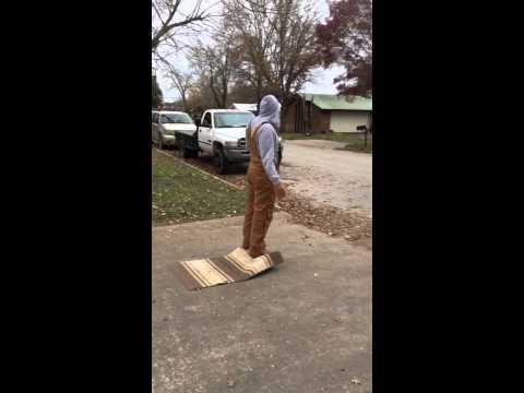 Hoverboard magic carpet