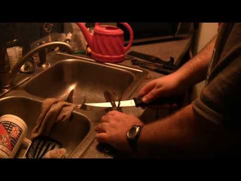 How to Skin A Catfish Fast Skinning a Cat The Easy Way how to fillet and clean catfish