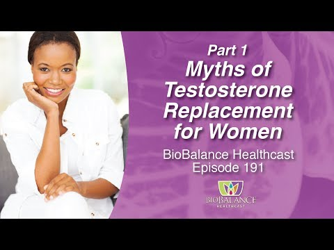 Myths of Testosterone Replacement for Women, Part 1
