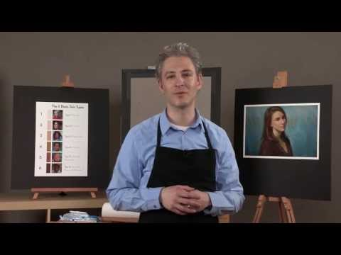 Preview | Painting Skin Tones in Pastel with Alain Picard