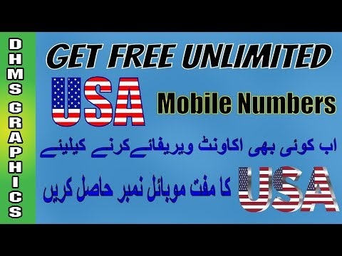 How to Use US Number in Whatsapp | Get Free | Whatsapp latest method of U.S.A NUMBER
