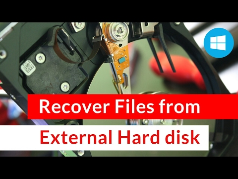 How to Recover Files From an External Hard Disk in Windows 10