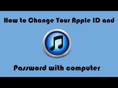How to Change Your Apple ID and Password with computer