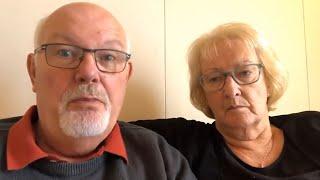 'Absolute balls': David and Sally Abel deny feeling unwell over coronavirus