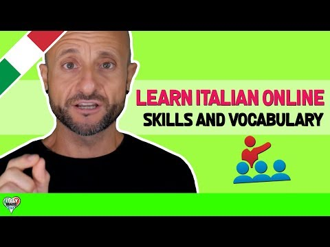 Improve and Learn Basic Italian Language Skills and Vocabulary: Learn Italian Online LIVE 13/03/2018