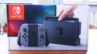 Nintendo Switch Unboxing and Hardware Overview