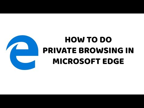 How to do Private Browsing in Microsoft Edge   Incognito Browsing in Microsoft Edge - Hindi