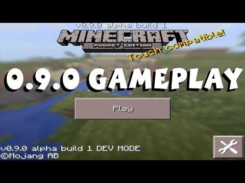 Minecraft Pocket Edition 9.0 Gameplay 1080P Developer Demo