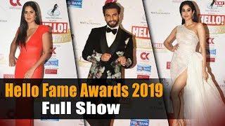 Hello Fame Awards 2019   Katrina Kaif   Ranveer Singh   Janhvi Kapoor