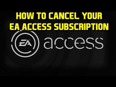 How To Cancel Your EA Access Subscription