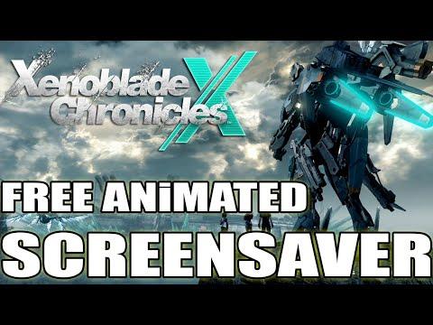 Xenoblade X - Animated SCREENSAVER for FREE!!!