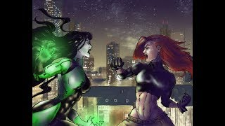 Kim and Shego best Fights Season 1
