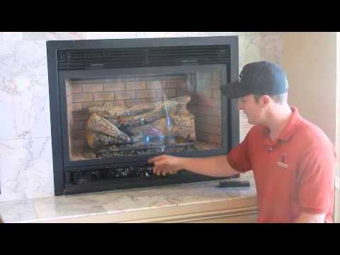How to Ignite a Gas Fireplace with a Standing Pilot