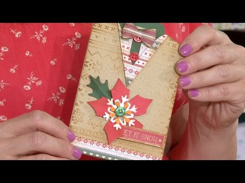 Making a Christmas Jumper/Sweater Card | In The Studio
